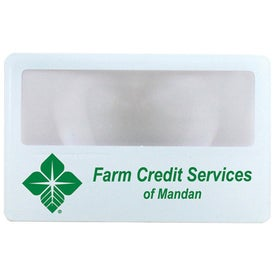 Personalized Credit Card Magnifiers