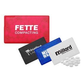 Company Custom Credit Card Mint Dispenser