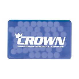 Credit Card Shaped Mint Dispenser with Your Logo