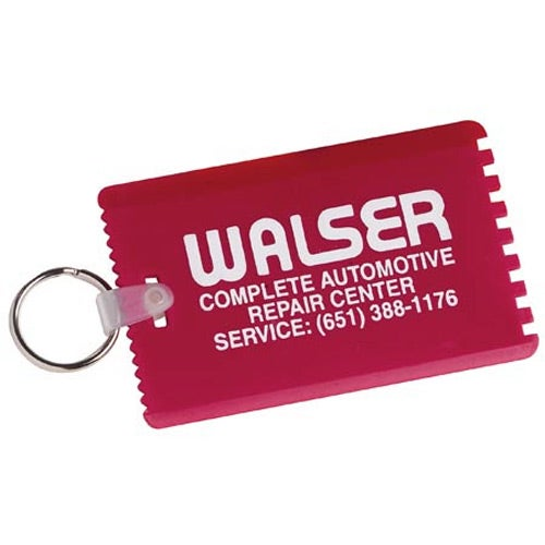 Credit Card Scraper with Key Ring