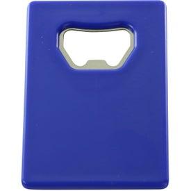 Imprinted Credit Card Bottle Opener