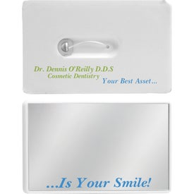 Credit Card Dental Floss w/Mirror