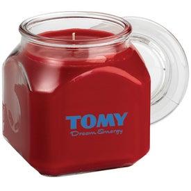 Cross Aromatherapy Wax Candle Glass Emma SQ Jar (18 Oz.)