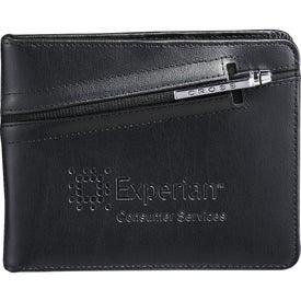 Cross Passport Wallet with Pen