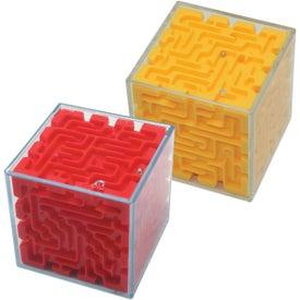 Cube Maze Puzzle