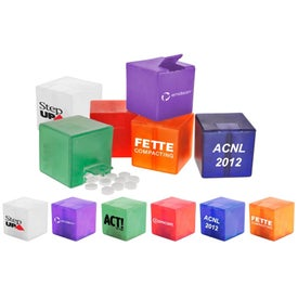 Cube Mint Dispenser Branded with Your Logo