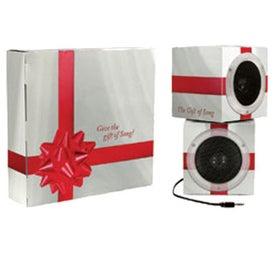 Company Cube Shape Portable Speakers