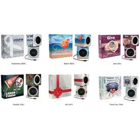 Cube Shape Portable Speakers (Digitally Printed)