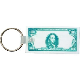 Currency Key Fob Printed with Your Logo