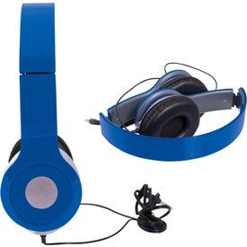 Cushioned Folding Headphones Giveaways
