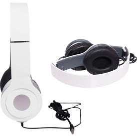 Company Cushioned Folding Headphones