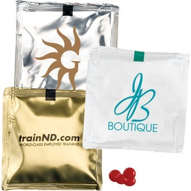 Custom Candy Packets Imprinted with Your Logo