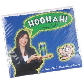 Microfiber Lens Cloth with Card
