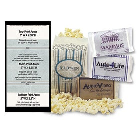 Custom Printed Popcorn Bags for Advertising