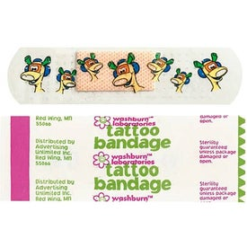 Custom Printed Tattoo Bandages for Marketing