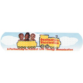 Custom Printed White Bandages for Your Organization