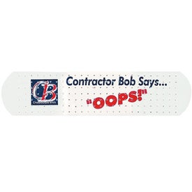 Custom Printed White Bandages for Your Company