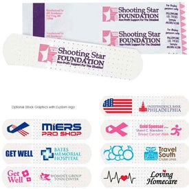 Custom Printed White Bandages