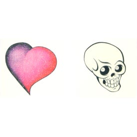 Promotional temporary tattoos with custom logo for ea for Custom temporary tattoos no minimum