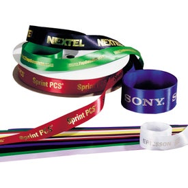 Customized Ribbon for Advertising