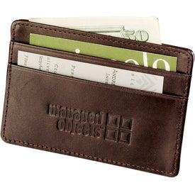 Cutter and Buck Business Card Wallet