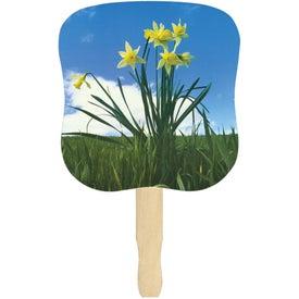 Daffodils Hand Fan for your School