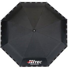 Monogrammed Davenport Compact Umbrella