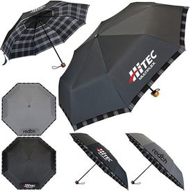 Custom Davenport Compact Umbrella