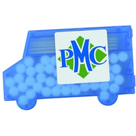 Printed Delivery Truck Mints and Toothpicks