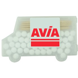 Delivery Truck Mints and Toothpicks Giveaways