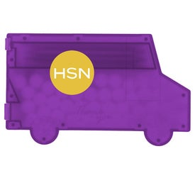 Delivery Truck Pick N Mints for Advertising