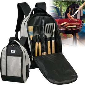 Deluxe BBQ Backpack Set for Your Company