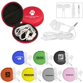 Deluxe Case with Ear Buds and Mic