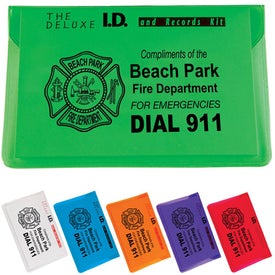 Branded Deluxe Child ID Kit