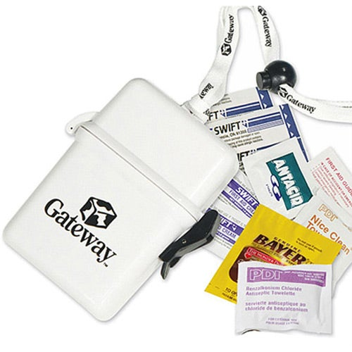 Deluxe First Aid Kit in a Plastic Container