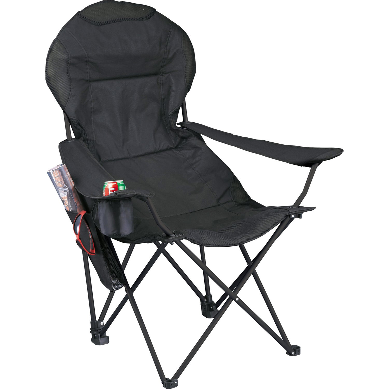 deluxe folding lounge chair trade show giveaways ea