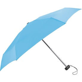 Deluxe Folding Umbrella with Your Slogan