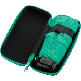 Customized Deluxe Folding Umbrella