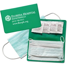 Deluxe Play It Safe Travel Kit Branded with Your Logo