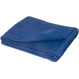 Promotional Deluxe Plush Blanket