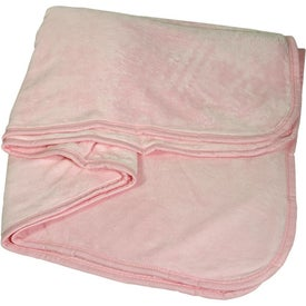 Deluxe Plush Blanket for Your Company