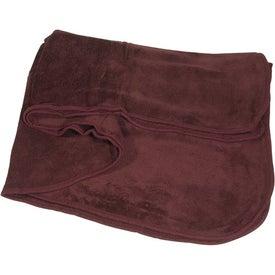 Monogrammed Deluxe Plush Blanket