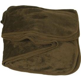 Branded Deluxe Plush Blanket