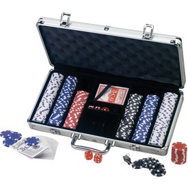 Personalized Deluxe Poker Set