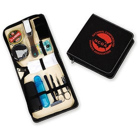 Deluxe Shoe Shine Travel Kit