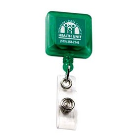 Advertising Deluxe Square Solid Color with Alligator Clip