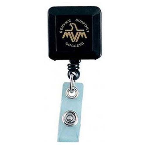 Deluxe Square Solid Color with Alligator Clip