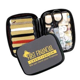 Printed Deluxe Travel Sewing Kit