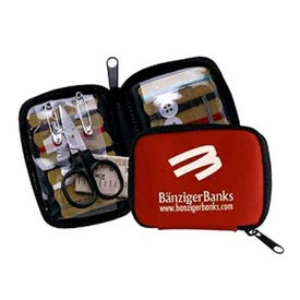 Branded Deluxe Travel Sewing Kit