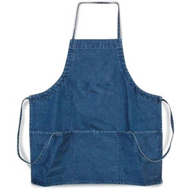 Denim 3-Pocket Apron for Your Company
